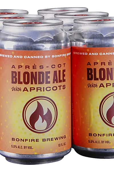 Bonfire Brewing Apricot Blonde