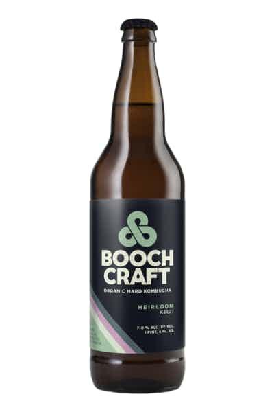 Boochcraft Heirloom Kiwi Organic Hard Kombucha