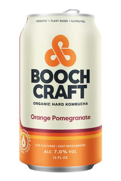 Boochcraft Orange Pomegranate Organic Hard Kombucha