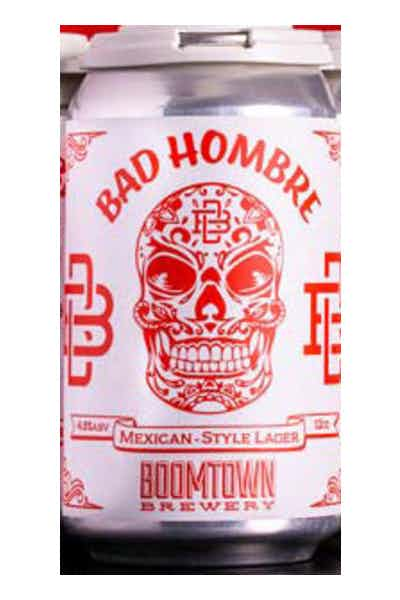 Boomtown Bad Hombre Mexican Style Lager