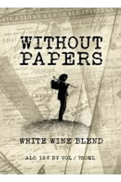Boston Winery Without Papers White Blend