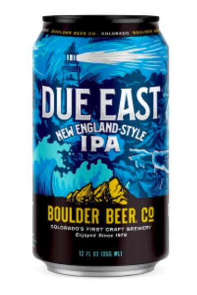 Boulder Due East New England IPA