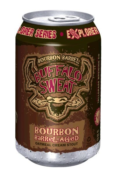 Bourbon Barrel Aged Buffalo Sweat Oatmeal Cream Stout