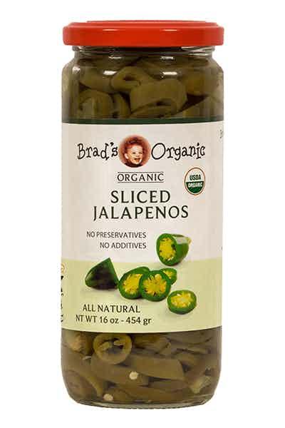 Brad's Organic Jalapeños Sliced