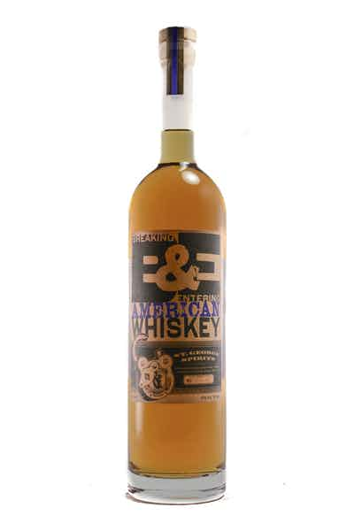 St. George Breaking & Entering American Whiskey