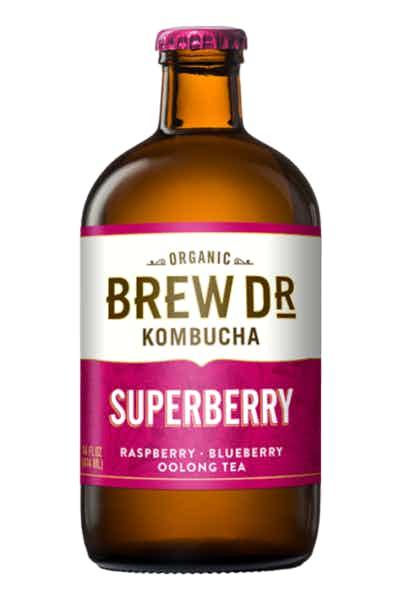 Brew Dr. Superberry Kombucha