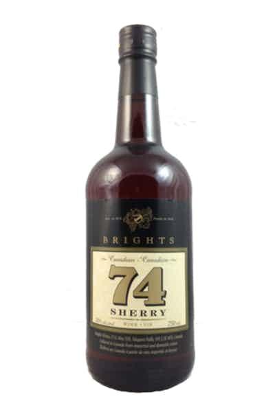 Brights 74 Sherry