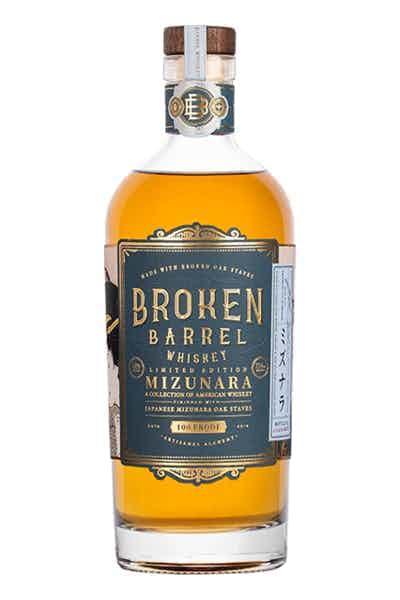 Broken Barrel Whiskey Mizunara