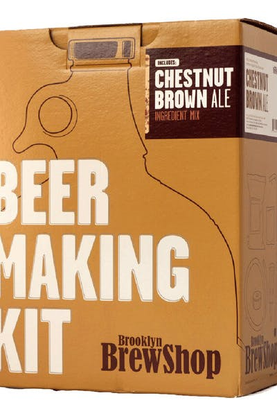 Brooklyn Brew Kit   Chestnut Brown