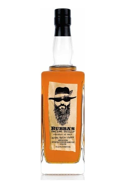 Bubba's Secret Stills Brown Spice Liquor
