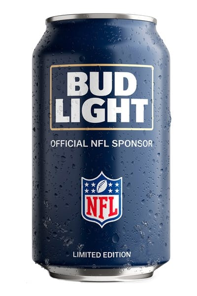 Bud Light Los Angeles Rams NFL Team Can