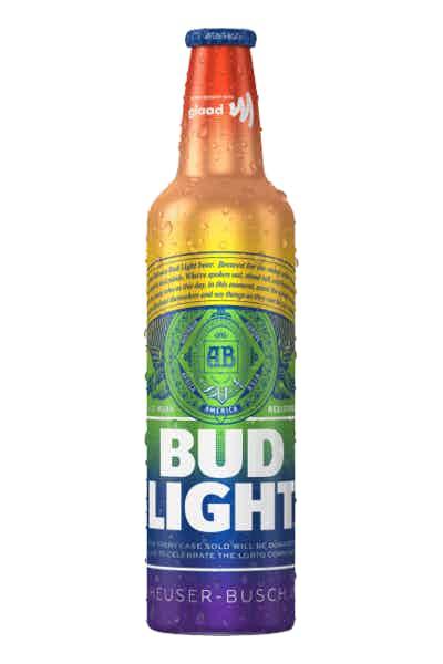 Bud Light Pride Aluminum Bottles
