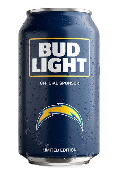 Bud Light San Diego Chargers NFL Team Can
