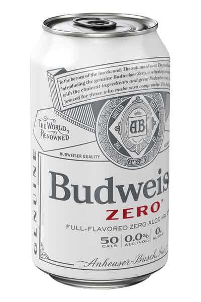 Budweiser Zero Full-Flavored Zero Alcohol Brew