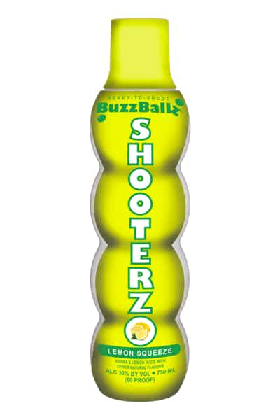 Buzzballz Shooterz Lemon Squeeze