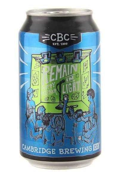 Cambridge Brewing Company Remain In Light