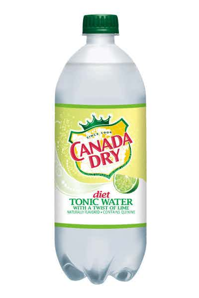Canada Dry Diet Tonic Water With Lime