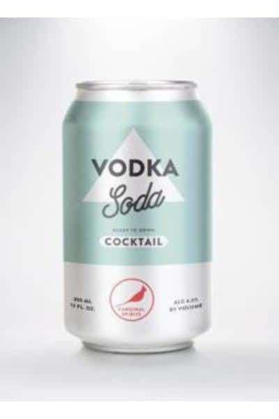 Cardinal Spirits Vodka Soda