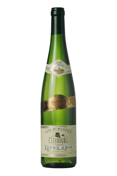 Cave De Cleebourg Prestige Pinot Gris 2014