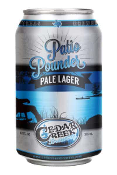 Cedar Creek Patio Pounder Pale Lager