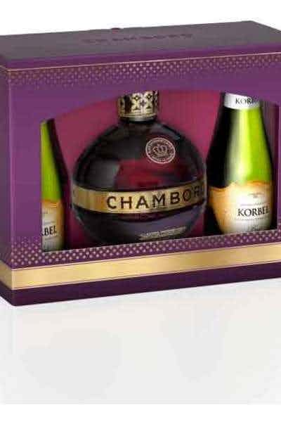 Chambord & Korbel Gift Set