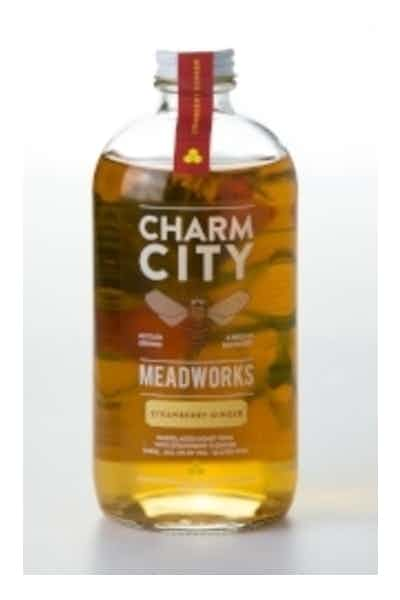 Charm City Meadworks Strawberry Ginger