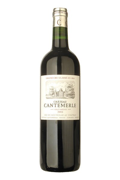 Chateau Cantemerle Haut Medoc 2014