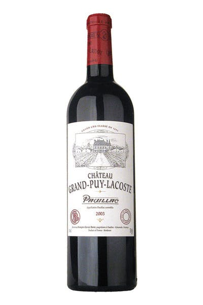 Chateau Grand Puy Lacoste Pauillac 2014