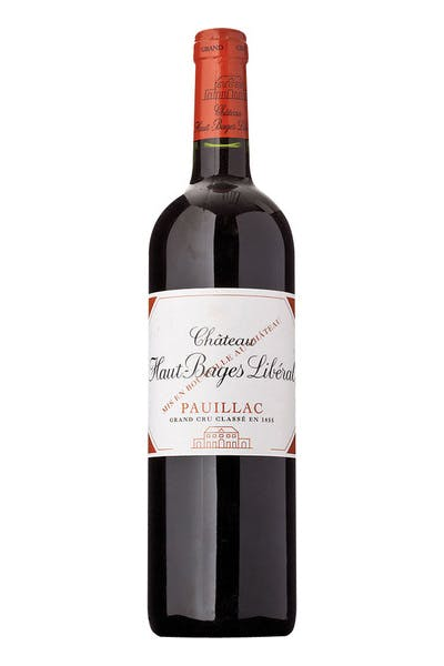 Chateau Haut Bages Liberal Pauillac 2010