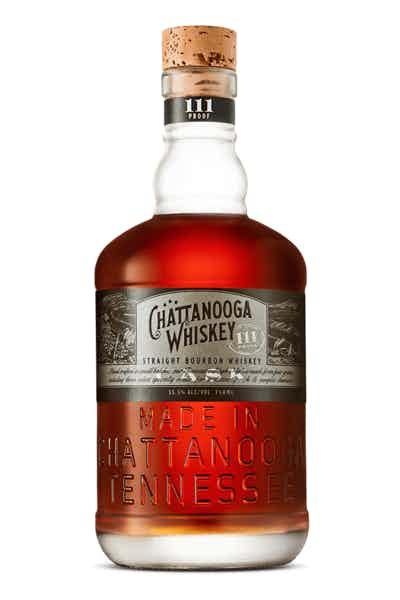 Chattanooga Straight Bourbon Whiskey 111 Proof
