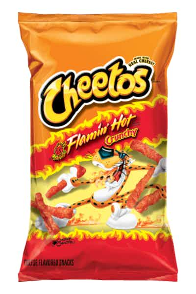 Cheetos Crunchy Flamin' Hot