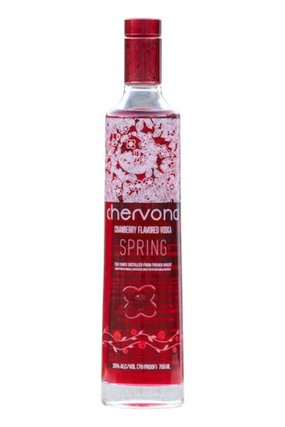 CHERVONA SPRING Cranberry Infused Vodka