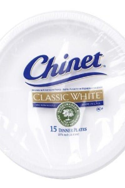 Chinet Large Dinner Paper Plates