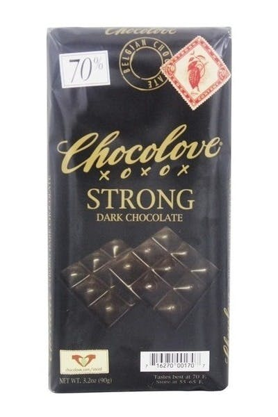 Chocolove Strong Dark 70% Chocolate Bar
