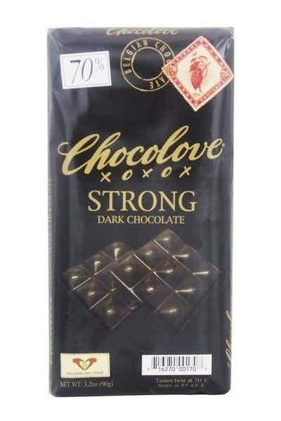 Chocolove Strong Dark 70% Chocolate Bar