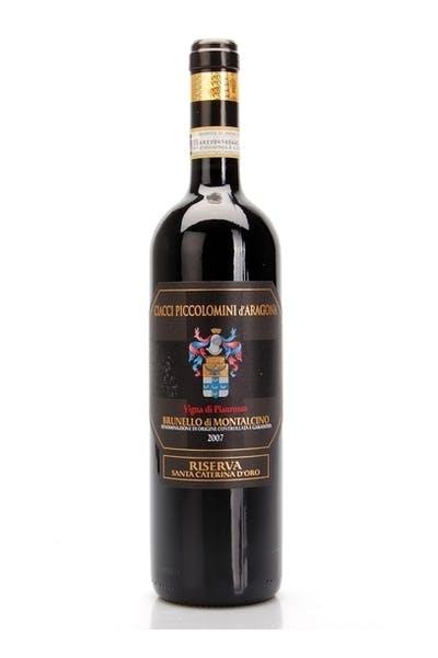 Ciacci Piccolomini d'Aragona Brunello di Montalcino Pianrosso Riserva Santa Caterina d'Oro