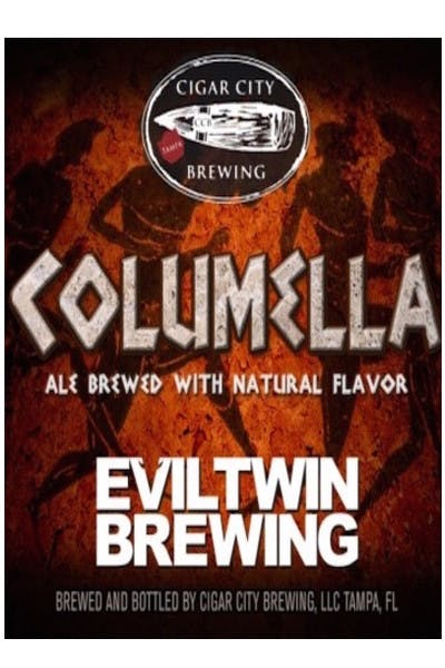 Cigar City Brewing / Evil Twin Columella Barleywine