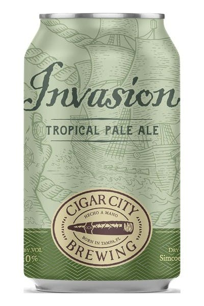 Cigar City Brewing Invasion Tropical Pale Ale