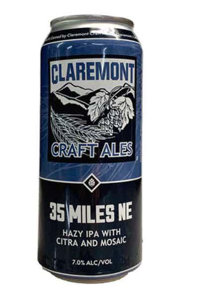 Claremont 35 Miles NE Hazy IPA