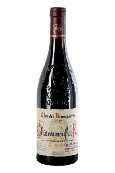 Clos Des Brusquières Châteauneuf Du Pape Rouge
