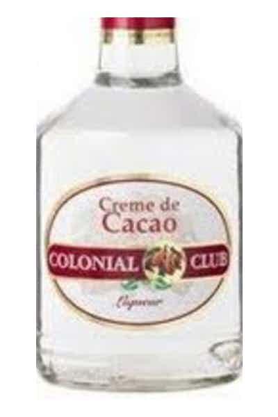 Colonial Club White Cream De Cacao Liqueur