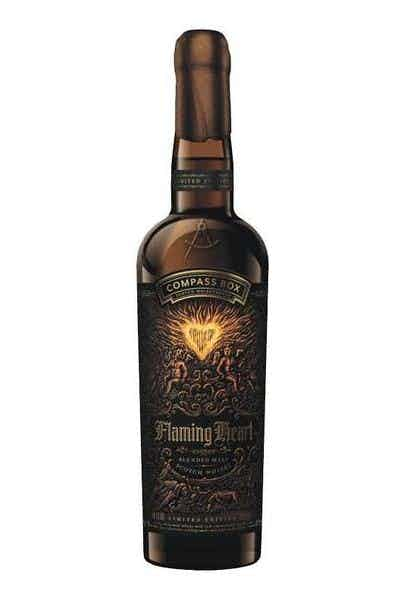 Compass Box Flaming Heart Blended Malt Scotch Whisky 6th Edition