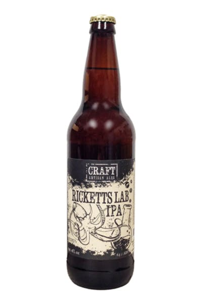 Craft Artisan Ales Ricketts Lab IPA