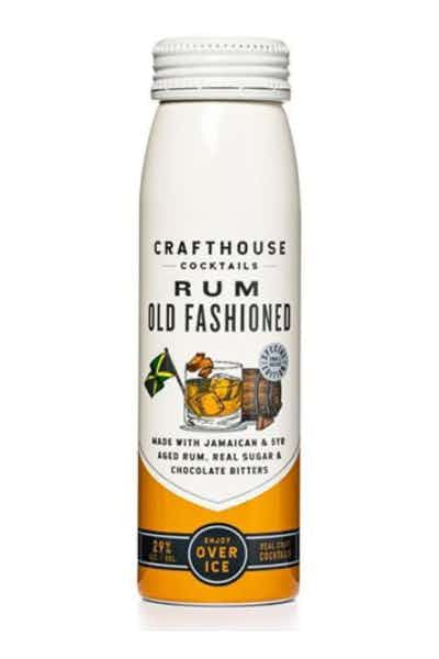 Crafthouse Rum Old Fashioned Bottled Cocktail