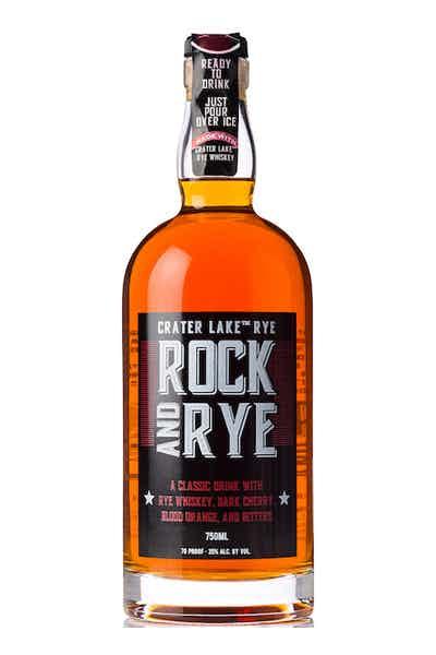 Crater Lake Rock & Rye Whiskey