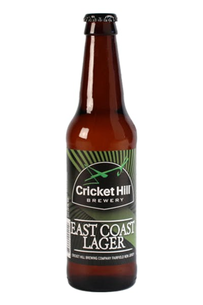 Cricket Hill East Coast Lager