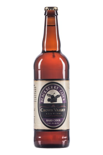 Crown Valley Blackberry Cider