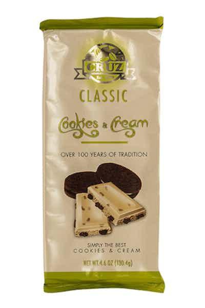 Cruz Cookies & Cream Chocolate Bar