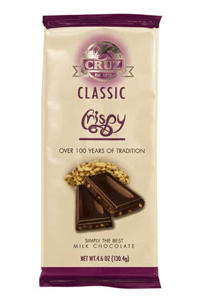 Cruz Milk Chocolate Crisp Bar