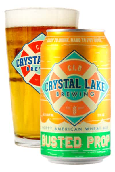 Crystal Lake Busted Prop Wheat Ale
